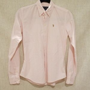 Ralph Lauren Shirt Silm Fit Size Small